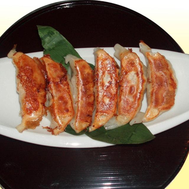 九月堂の焼き餃子