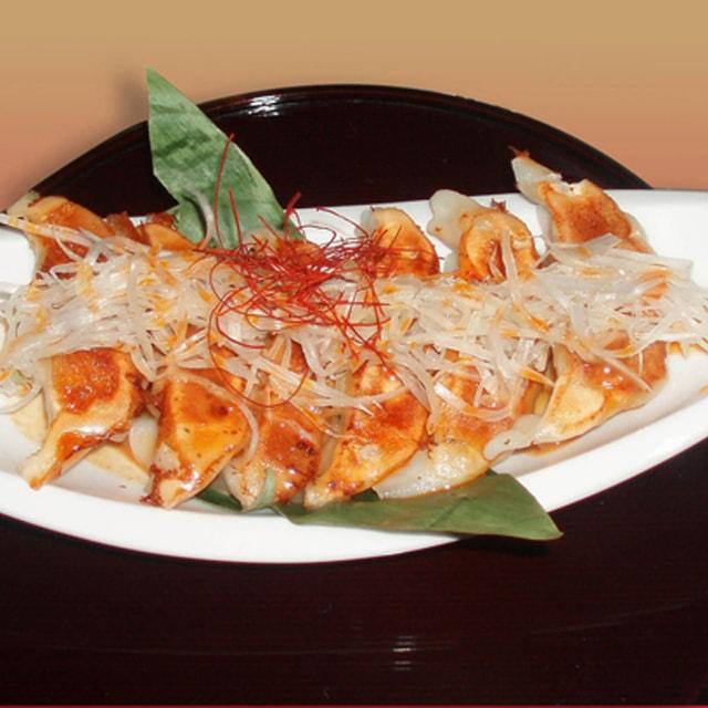 九月堂のピリ辛味噌餃子